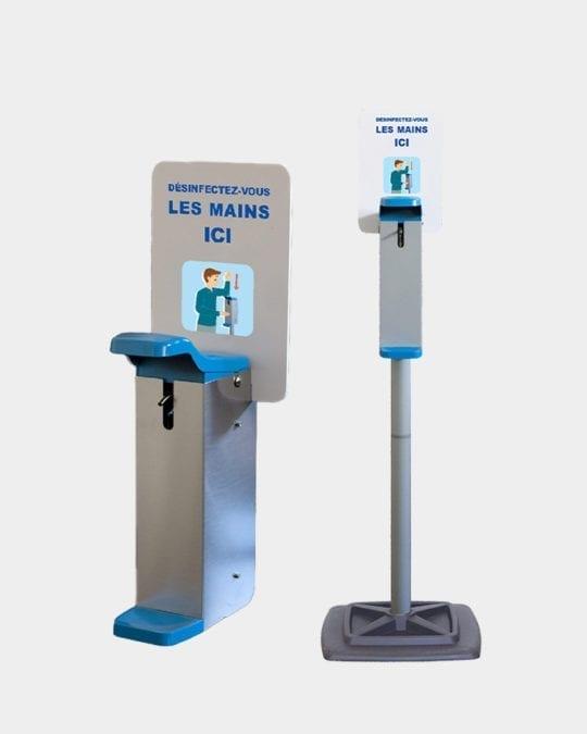 Distributeurs de gel