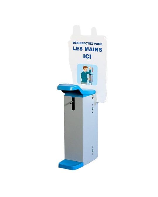 Distributeurs de gel à fixer